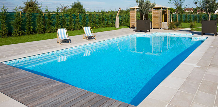 Kit piscine construction de piscine eurokit - Image de piscine ...